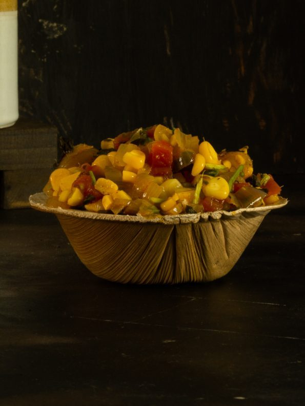 tangy sweet corn chat
