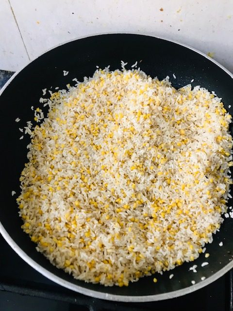 rice dal mixture for pongal