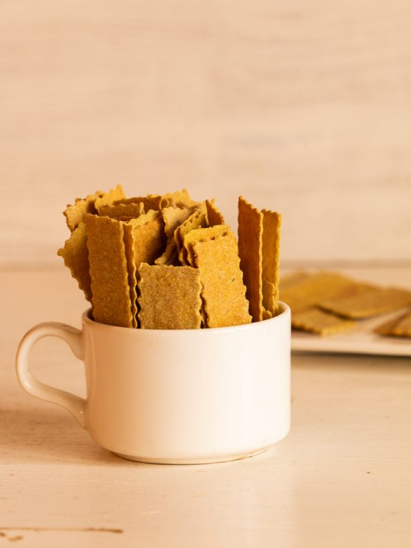 whole wheat millet crackers